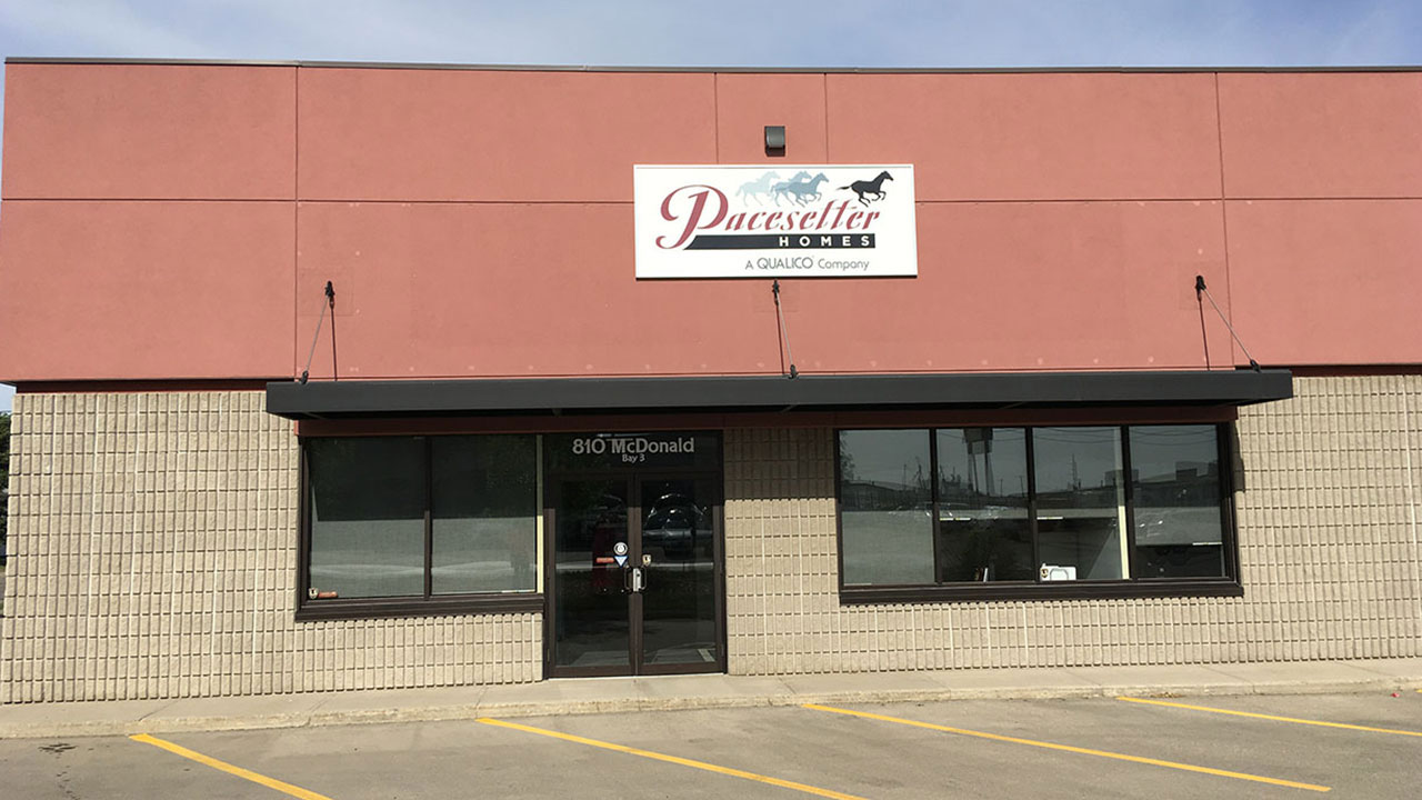 Pacesetter Homes office in Regina