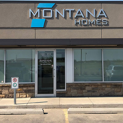 The offices of Montana Homes