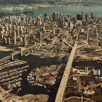 Aerial Vancouver, undated