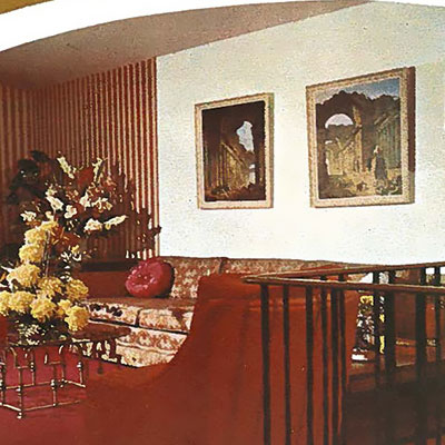 Interior of a Qualico home from the 1970s