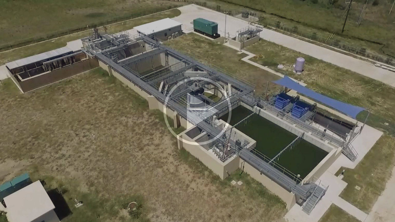 The water treatment in the community of Sun Chase.