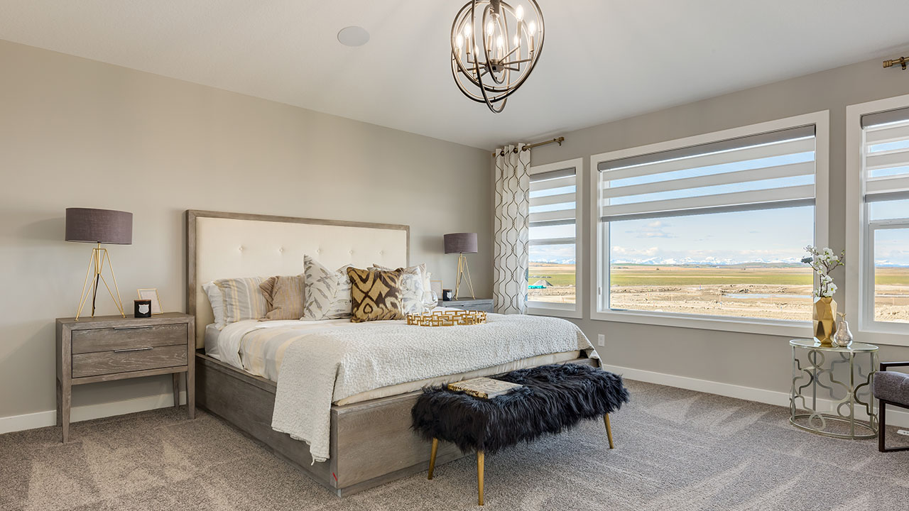 Sterling Calgary - Alexander Model - Master Bedroom