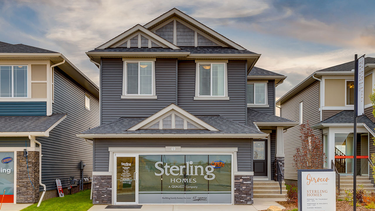 49 Creekside Avenue - Sterling Homes Calgary's Berkshire 2 - Front Exterior