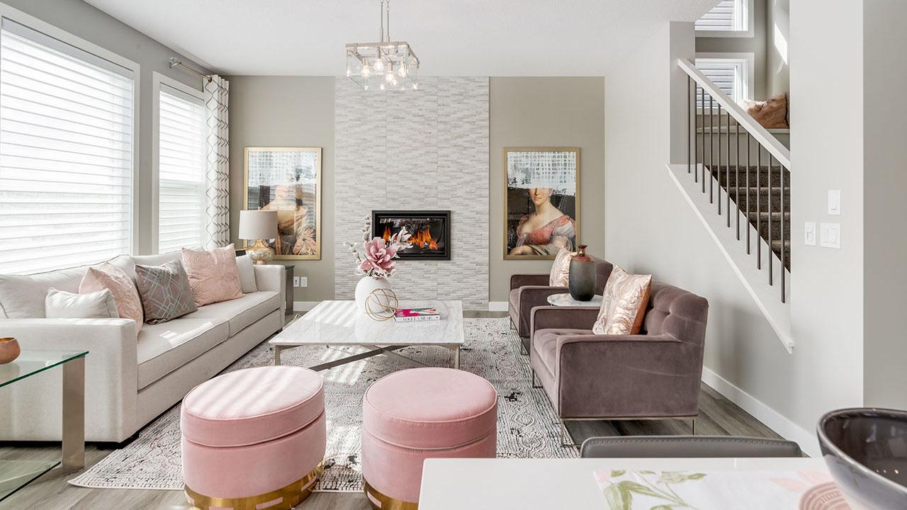 49 Creekside Avenue - Sterling Homes Calgary's Berkshire 2 - Great Room