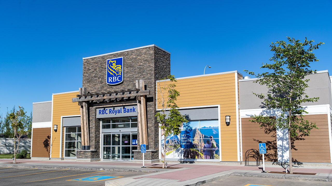 Qualico Commercial Calgary - Evanston Towne Centre - RBC
