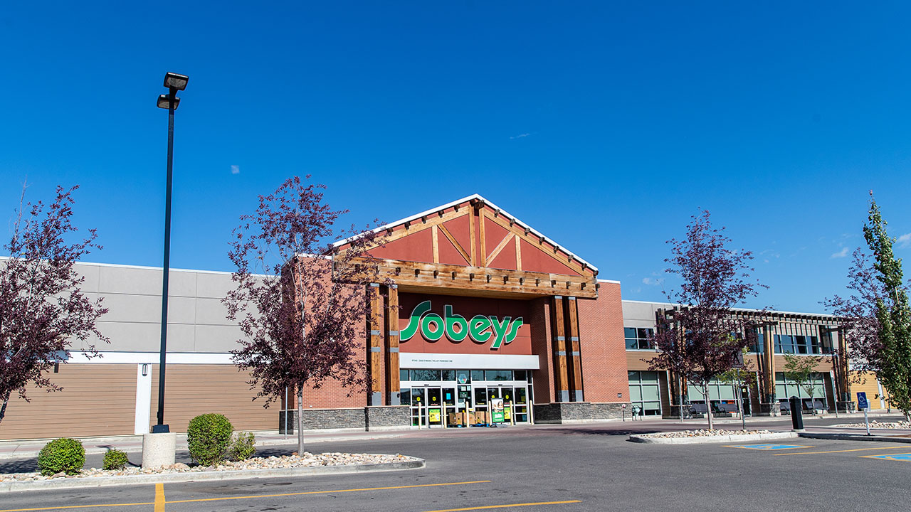 Qualico Commercial Calgary - Evanston Towne Centre - Sobey