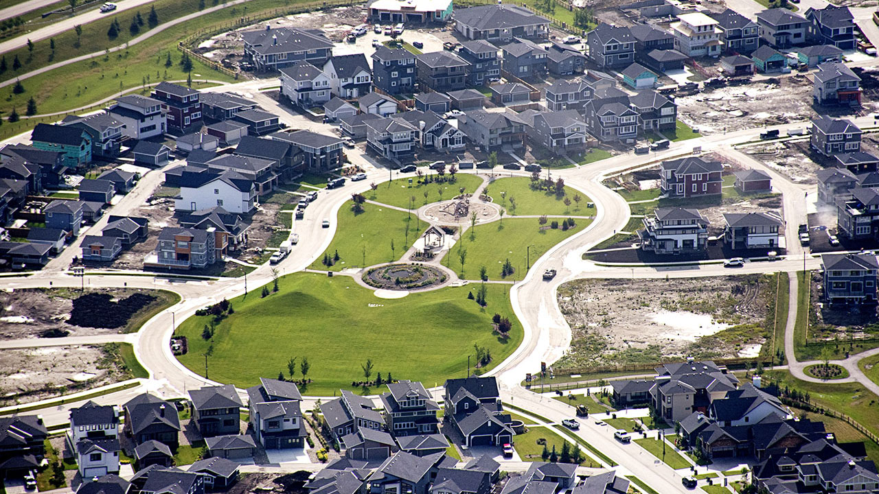 Qualico Communities Calgary - Harmony - Aerial2