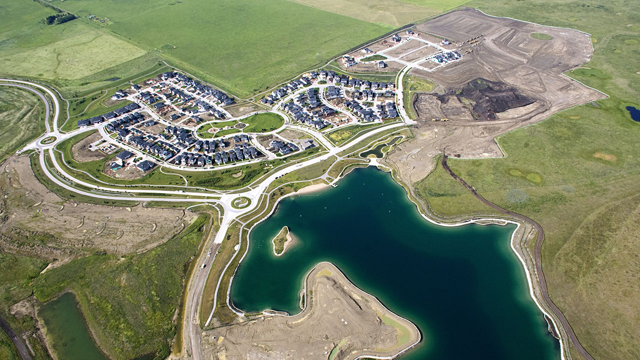 Qualico Communities Calgary - Harmony - Aerial4