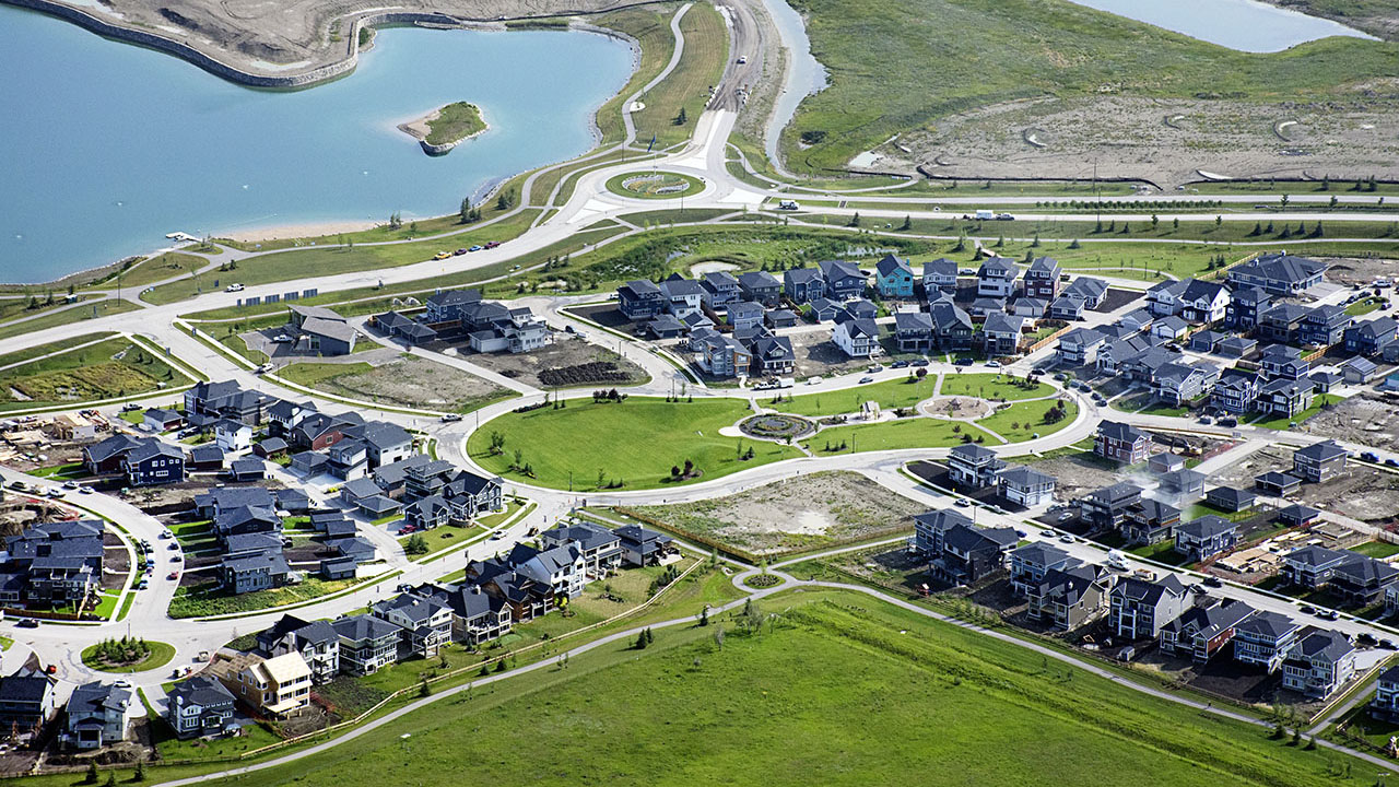 Qualico Communities Calgary - Harmony - Aerial5