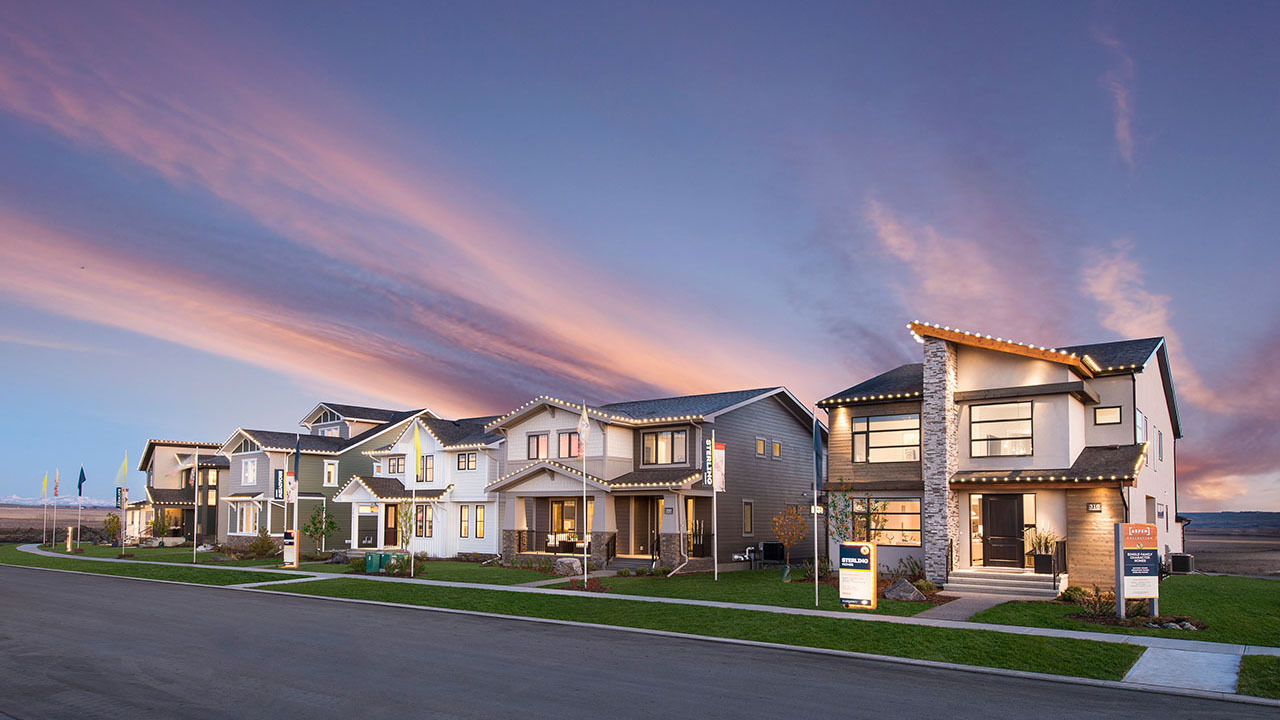 Qualico Communities Calgary - Harmony - Aspen Show Home