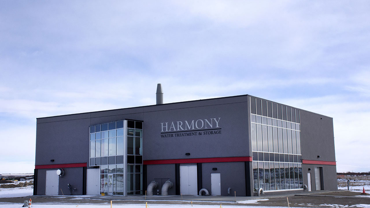 Qualico Communities Calgary - Harmony - Water Filtration Plant