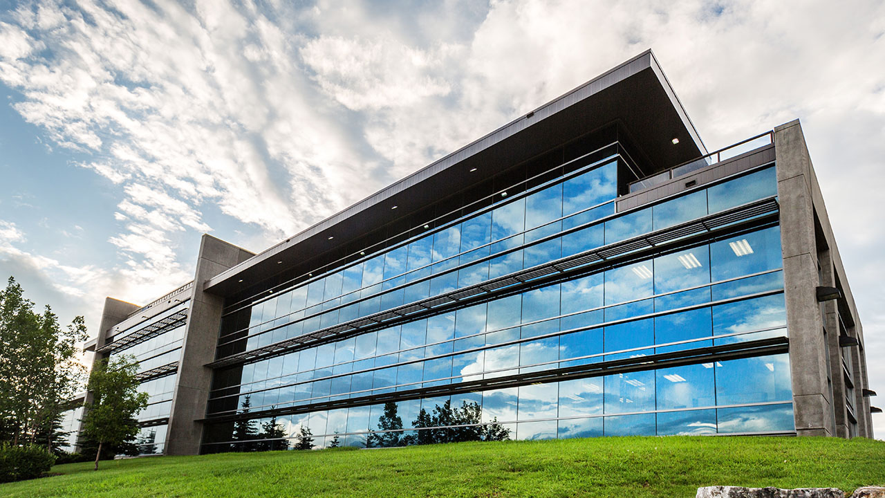 Rancho Calgary - Harvest Hills Office Park Building B - Exterior Back