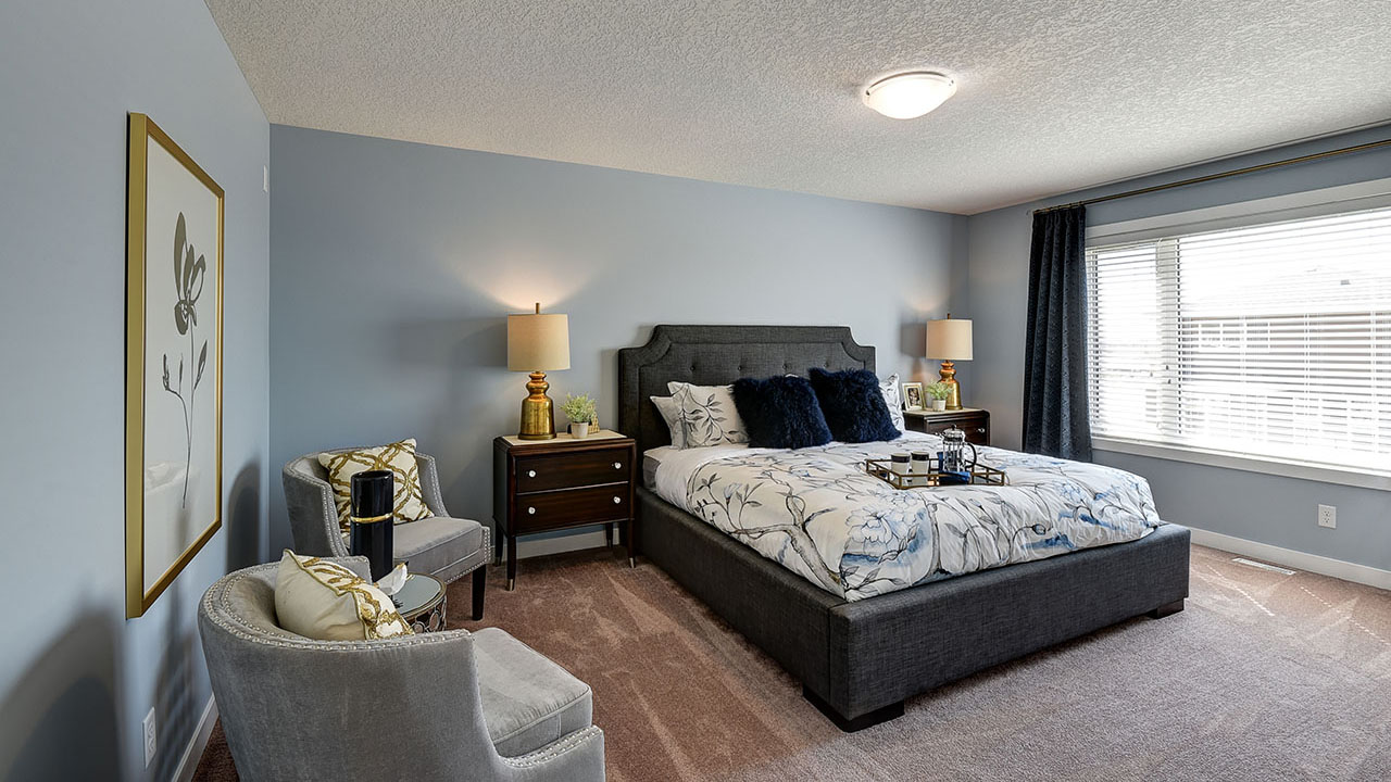 NuVista Homes Calgary - NuVista - Inverness - Bedroom