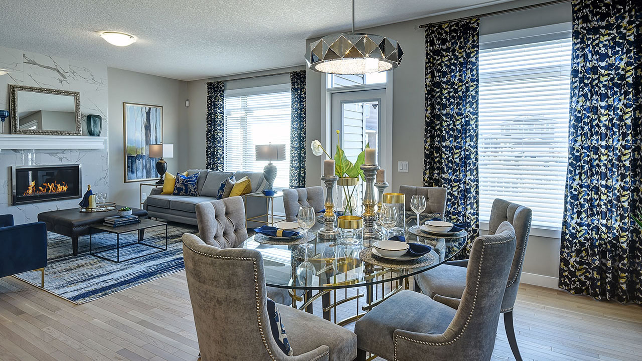 NuVista Homes Calgary - NuVista - Inverness - Dining