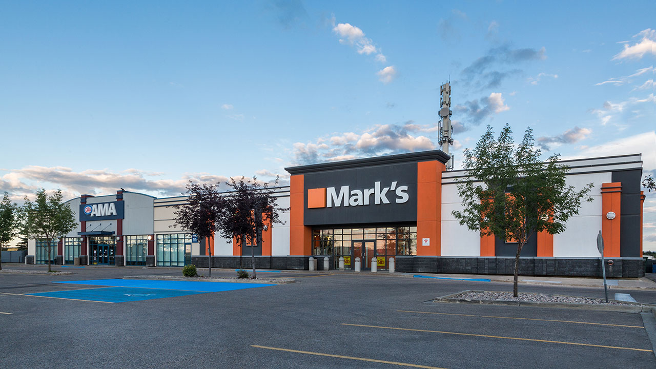 Qualico Commercial Red Deer - Southpointe Common - Marks Warehouse