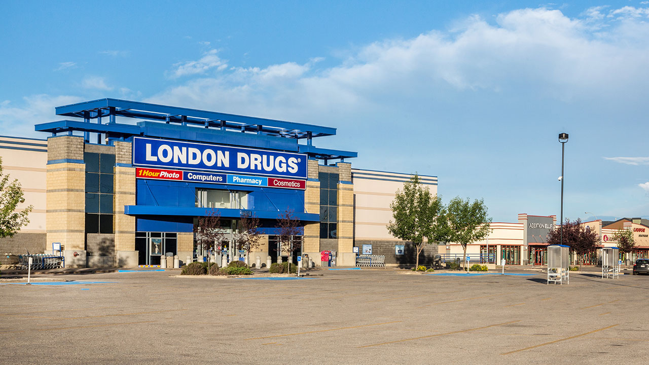 Qualico Commercial Red Deer - Southpointe Common - London Drugs