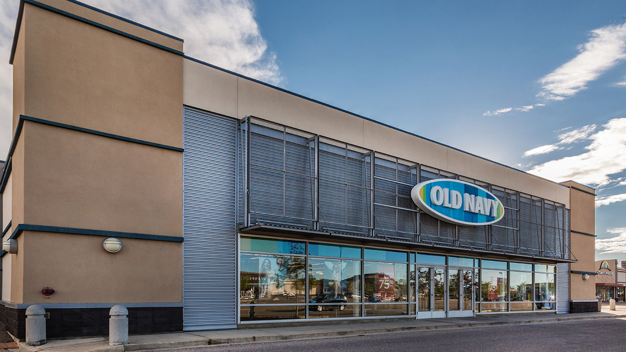 Qualico Commercial Red Deer - Southpointe Plaza - Old Navy