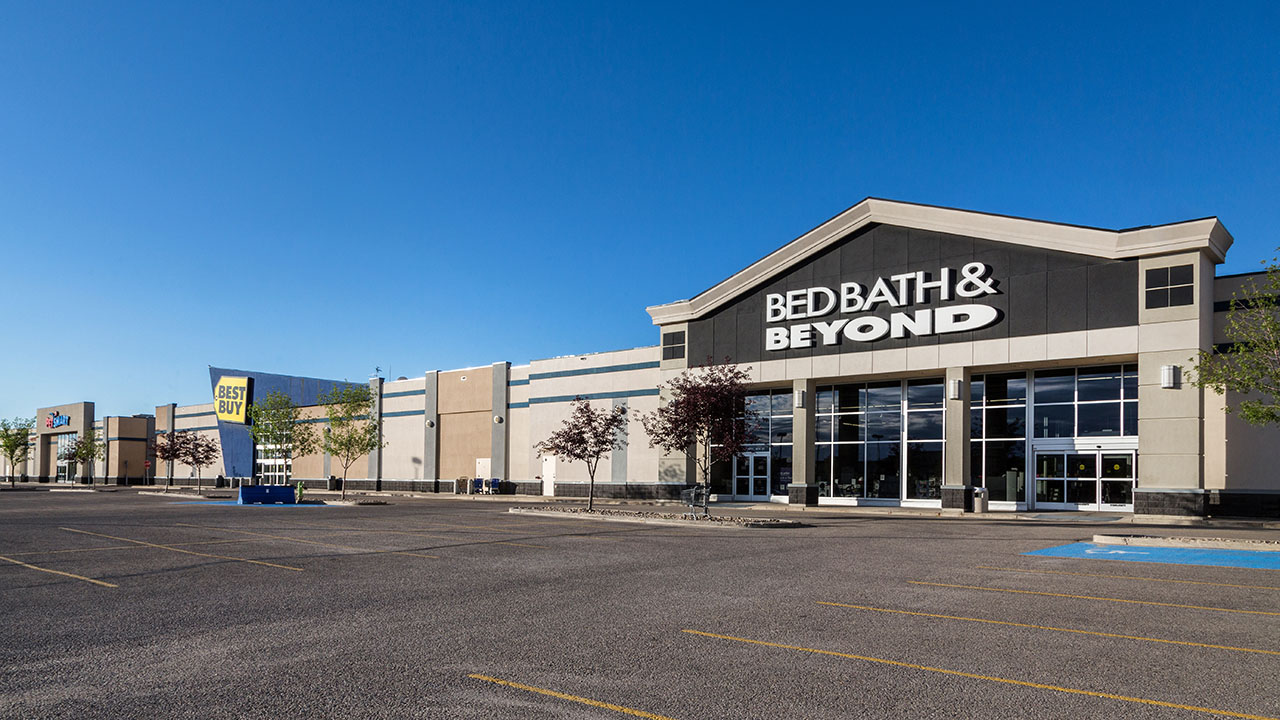 Qualico Commercial Red Deer - Southpointe Plaza - Bed Bath Beyond