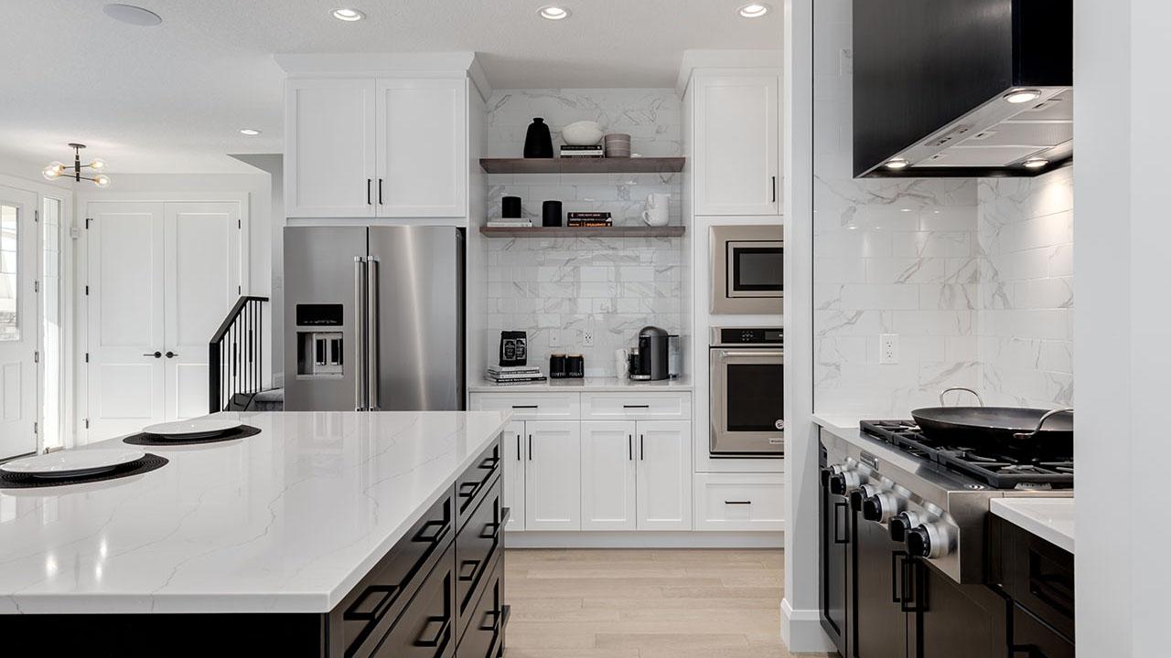 328 South Harmony Drive - Broadview Homes Calgary - Mercer - Kitchen