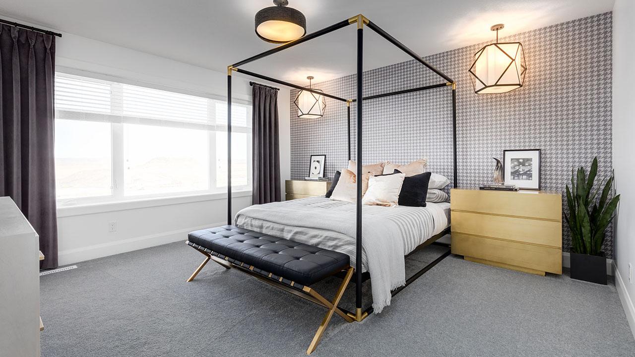 328 South Harmony Drive - Broadview Homes Calgary - Mercer - Master Bedroom