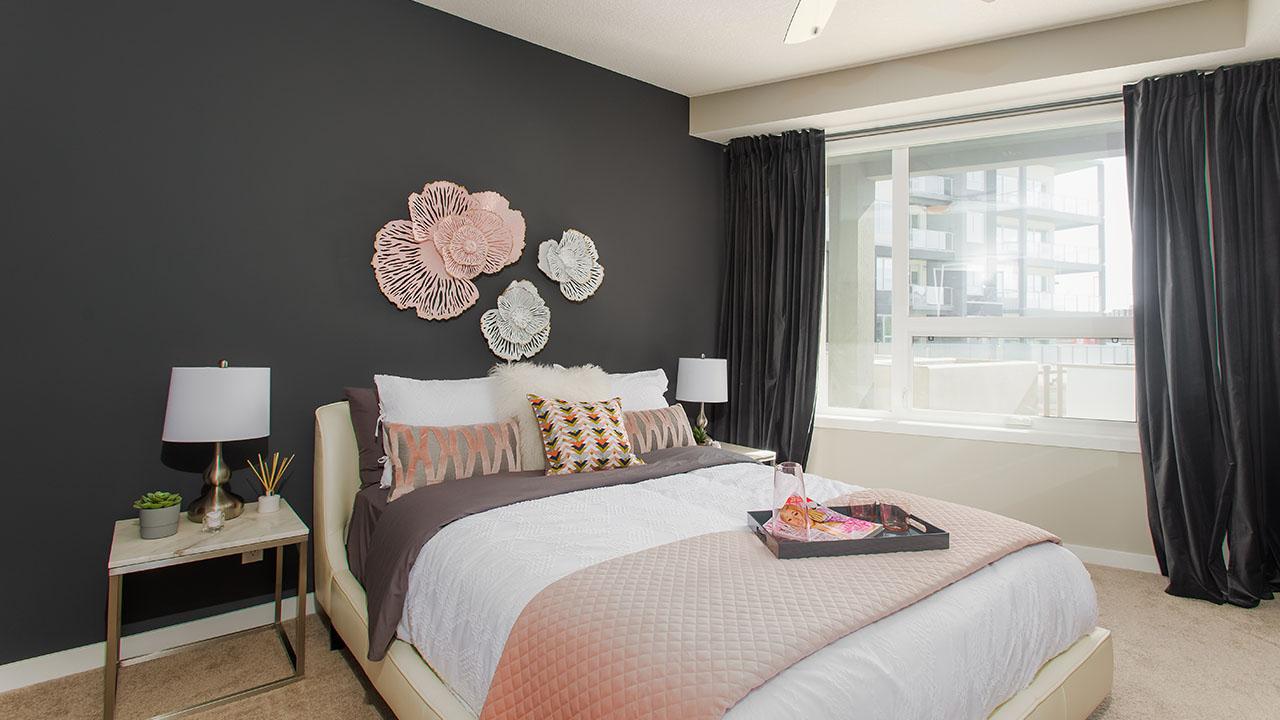 Vivace at West 85th - StreetSide Calgary - Vivace - A - Bedroom