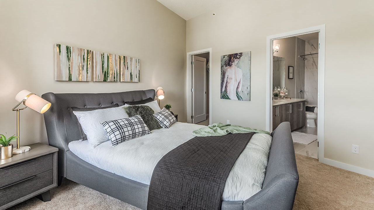 Vivace at West 85th - StreetSide Calgary - Vivace - C - Bedroom