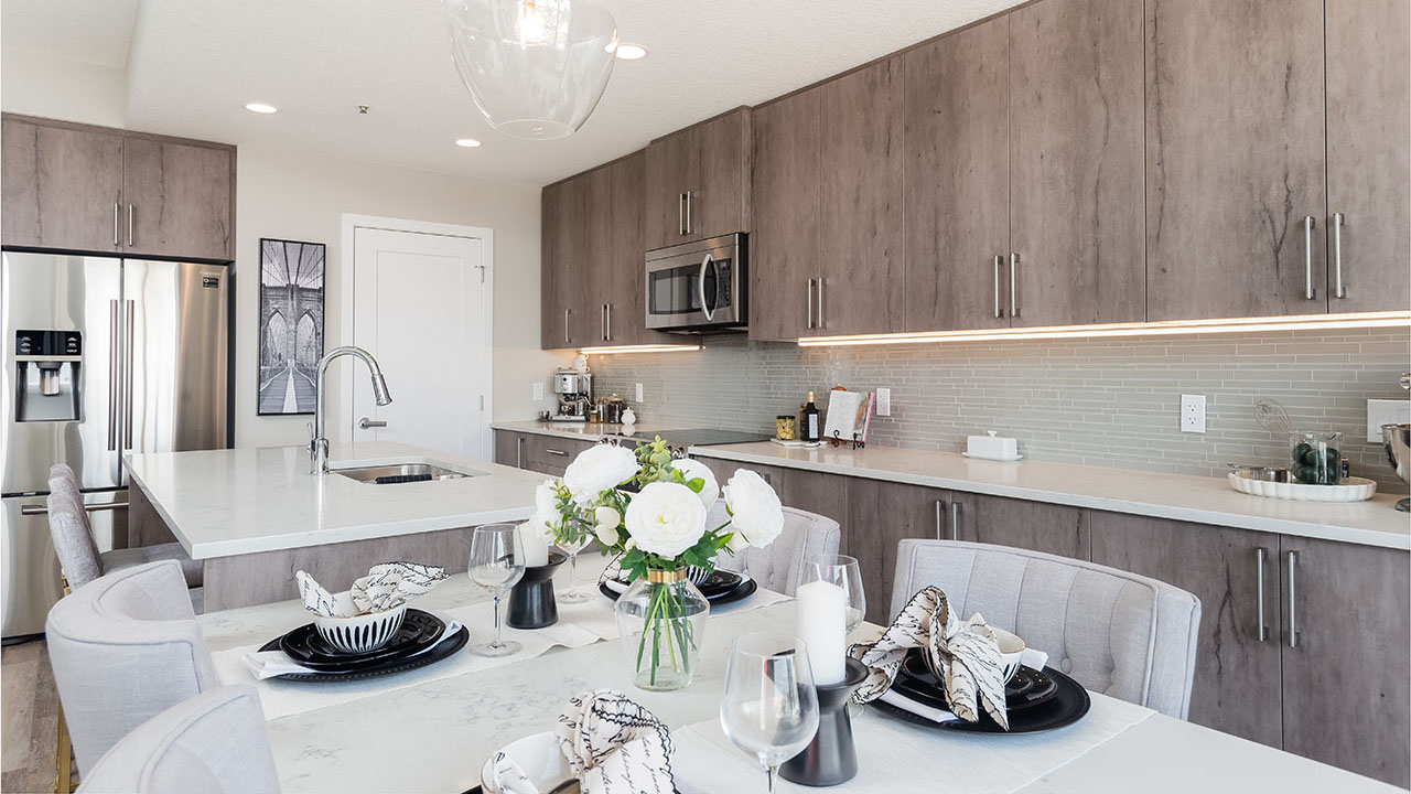 Vivace at West 85th - StreetSide Calgary - Vivace - C - Kitchen2