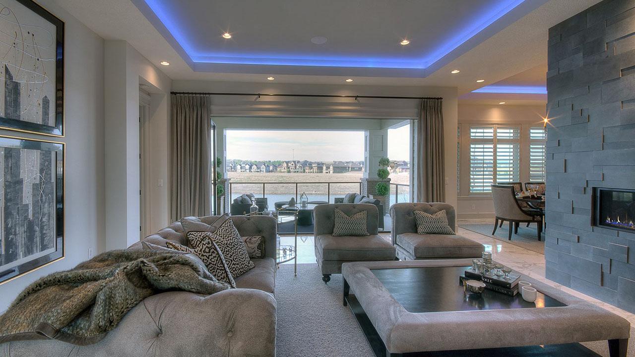 Augusta Fine Homes Calgary - Westwood - LivingRoom