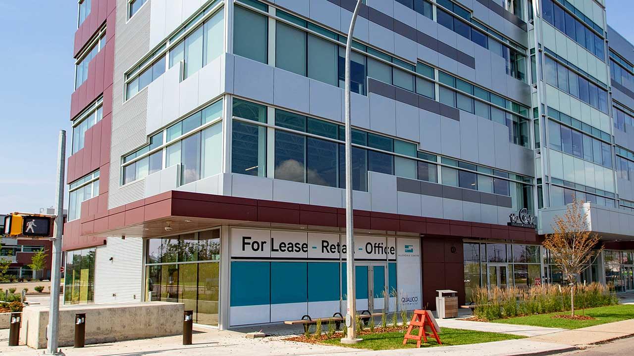 Qualico Commercial Edmonton - Allendale Professional Centre East - Exterior4