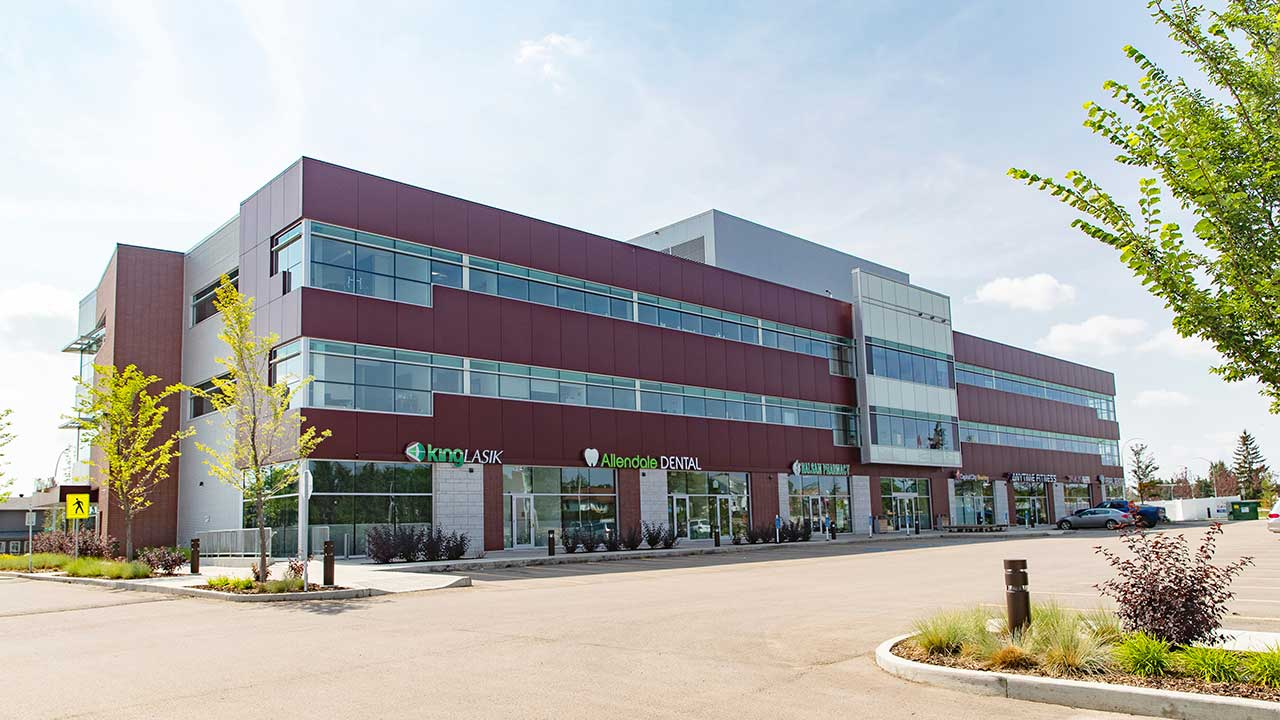 Qualico Commercial Edmonton - Allendale Professional Centre - Exterior1