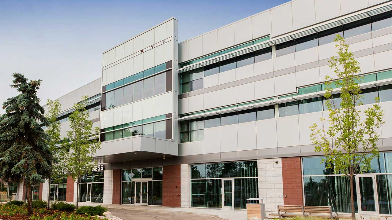 Qualico Commercial Edmonton - Allendale Professional Centre - Exterior3