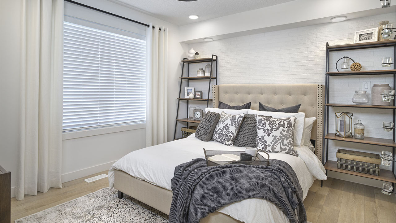 StreetSide Edmonton - Bourbon Townhome - Bedroom