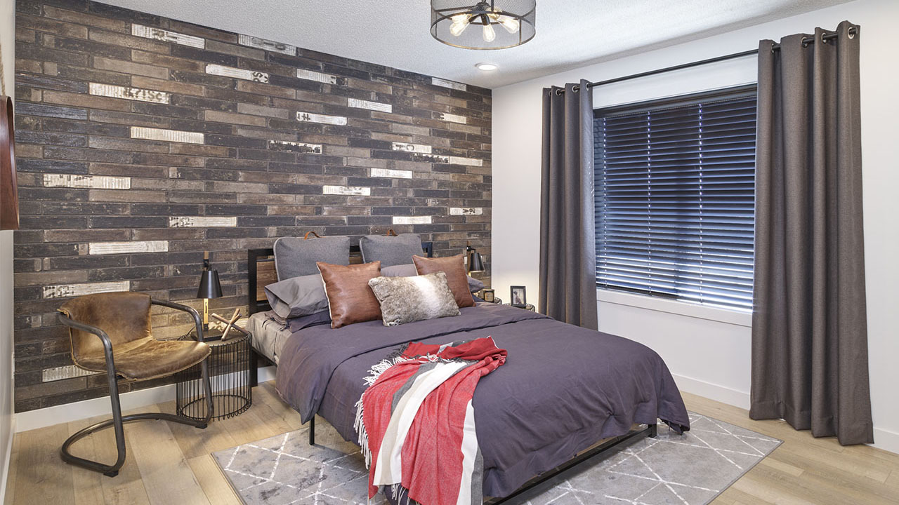StreetSide Edmonton - Bourbon Townhome - Bedroom2