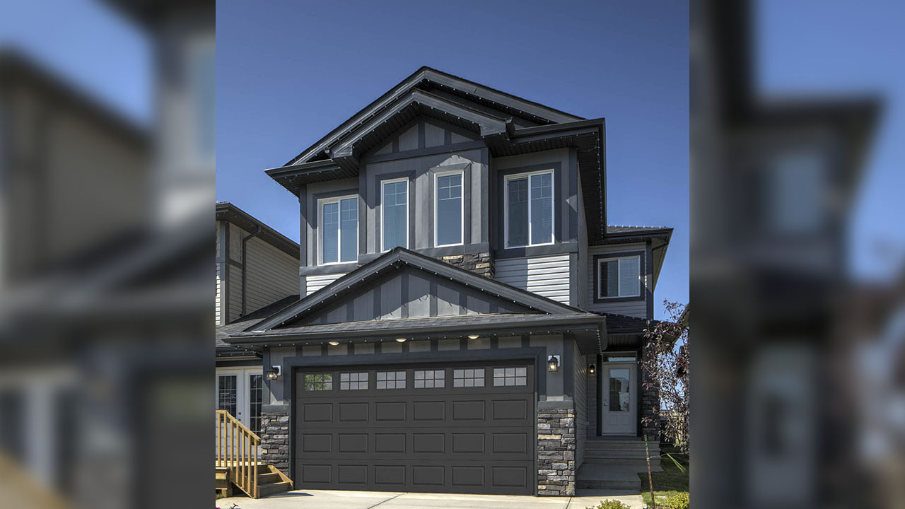 Sterling Homes Edmonton - Thomas - Exterior