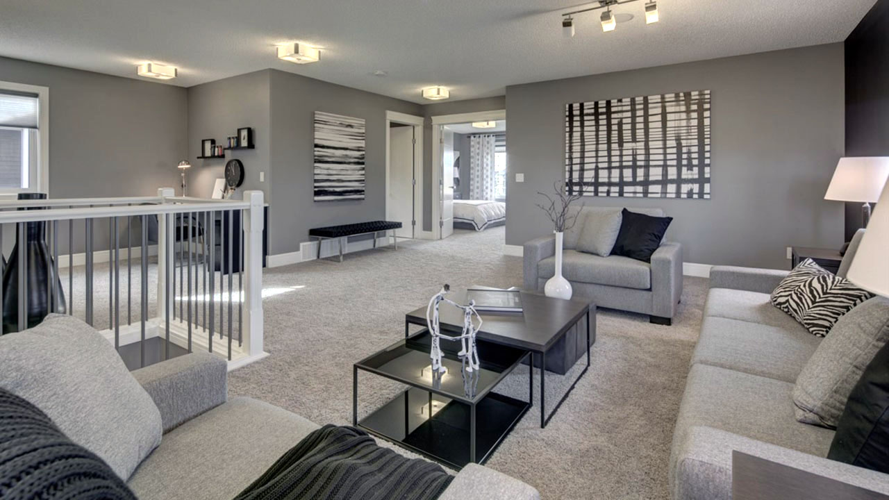 Sterling Homes Edmonton - Thomas - LivingRoom