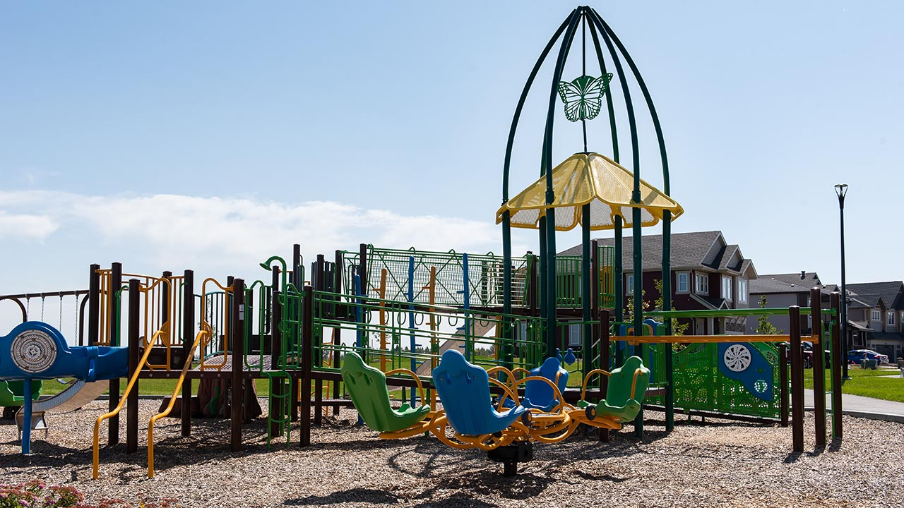 Communities Edmonton - The Uplands at Riverview - Playground