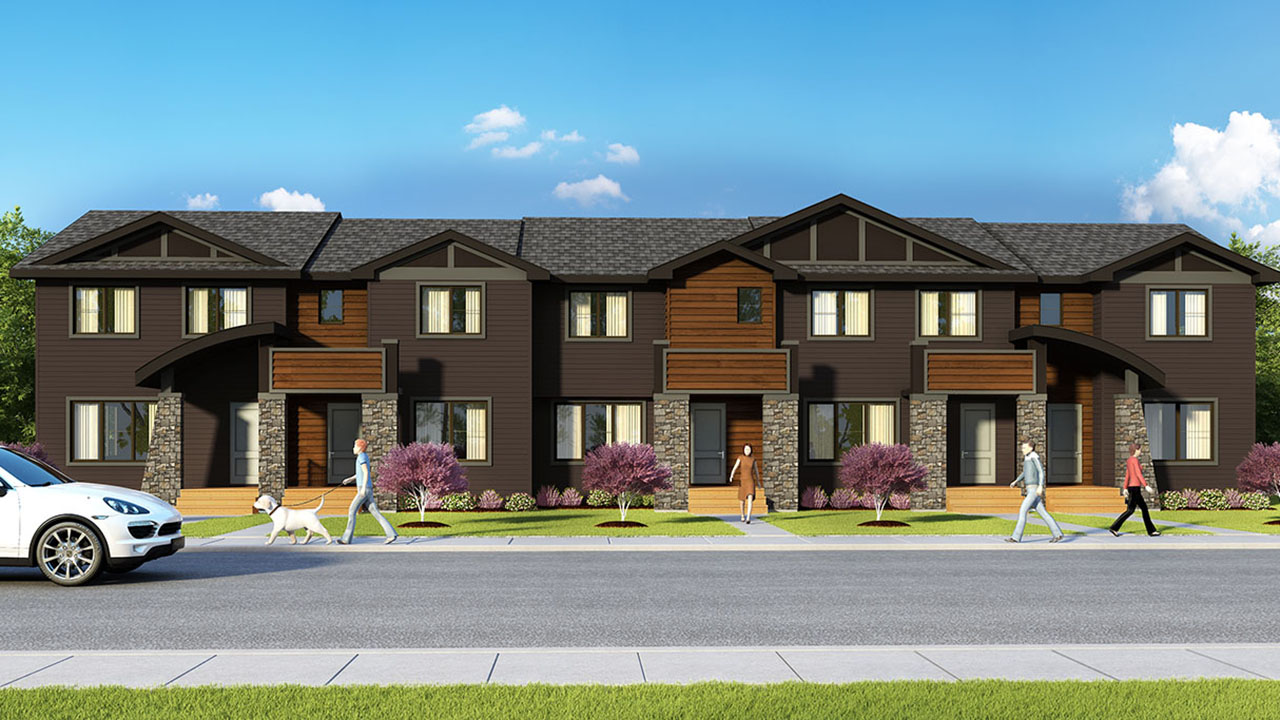 Pacesetter Homes Regina - Danby - Exterior Rendering
