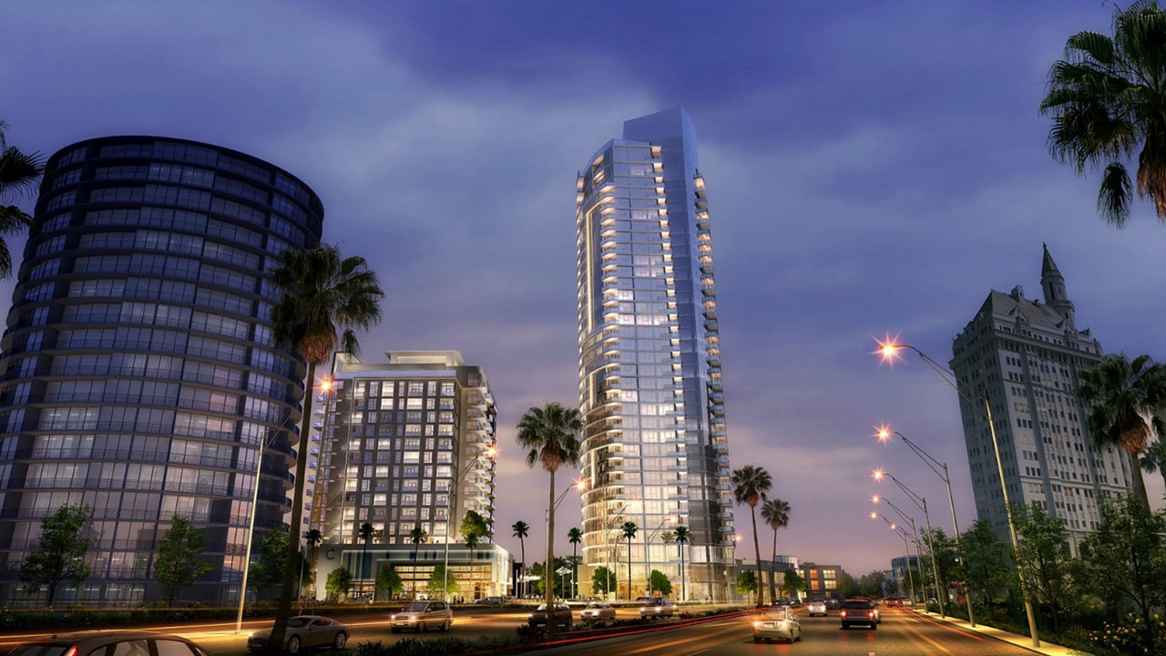Qualico US - Shoreline Gateway - Street View Rendering