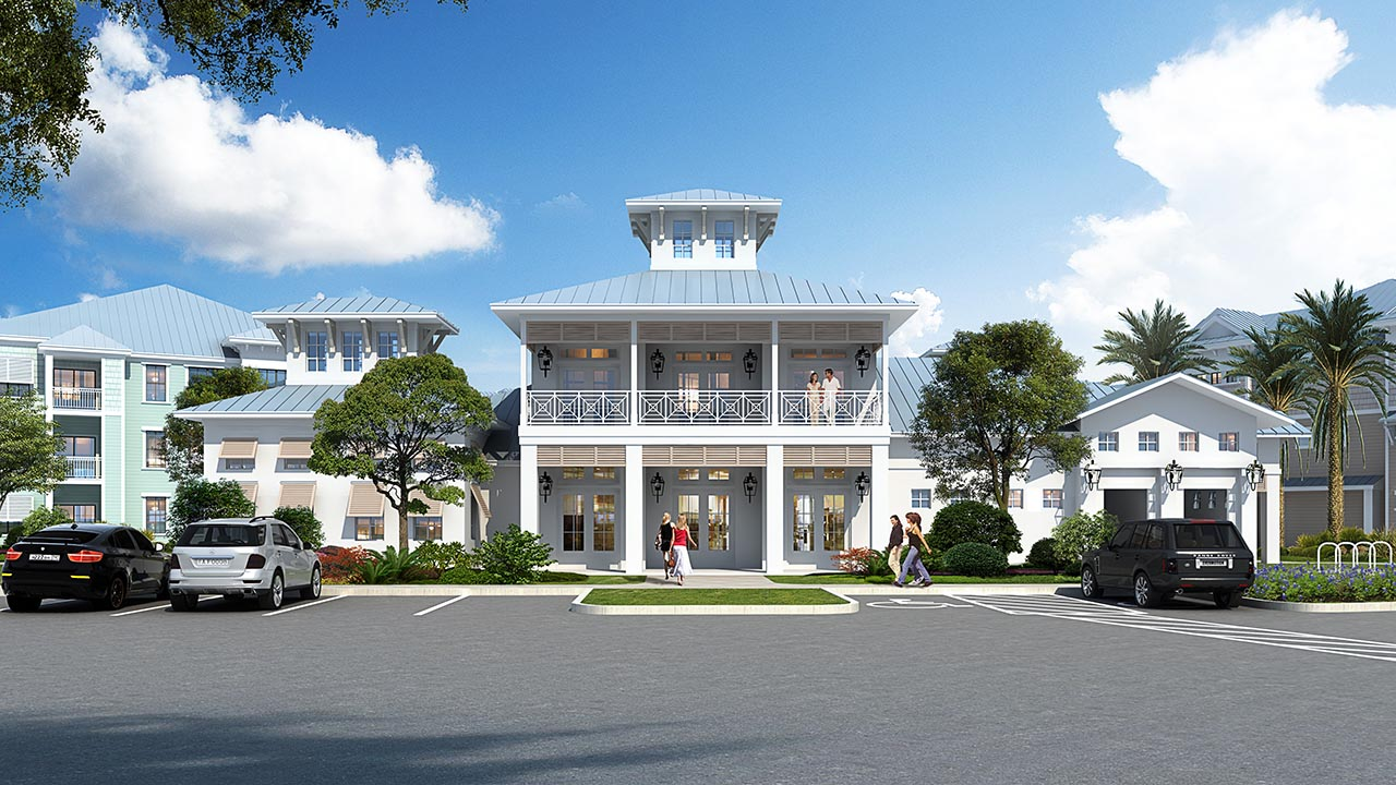 Tech Ridge - Edgewater - Rendering