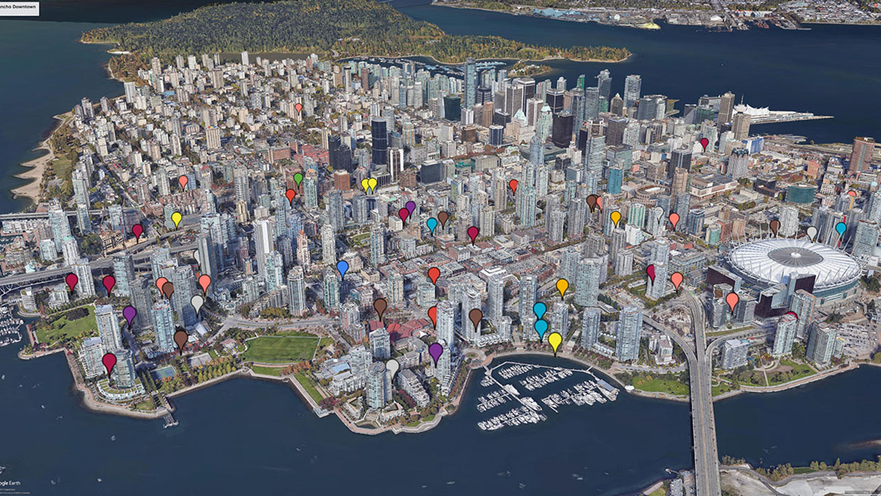 Rancho Management Services Vancouver - Property Map 2