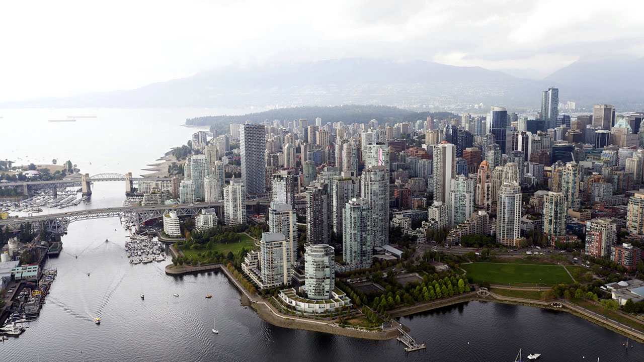 Rancho Management Services Vancouver - Downtown Aerial2