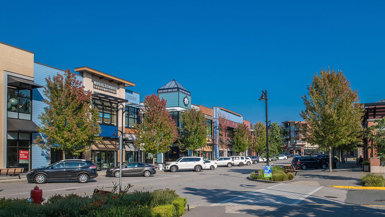 Qualico Commercial Vancouver - Willoughby Town Centre - Exterior1