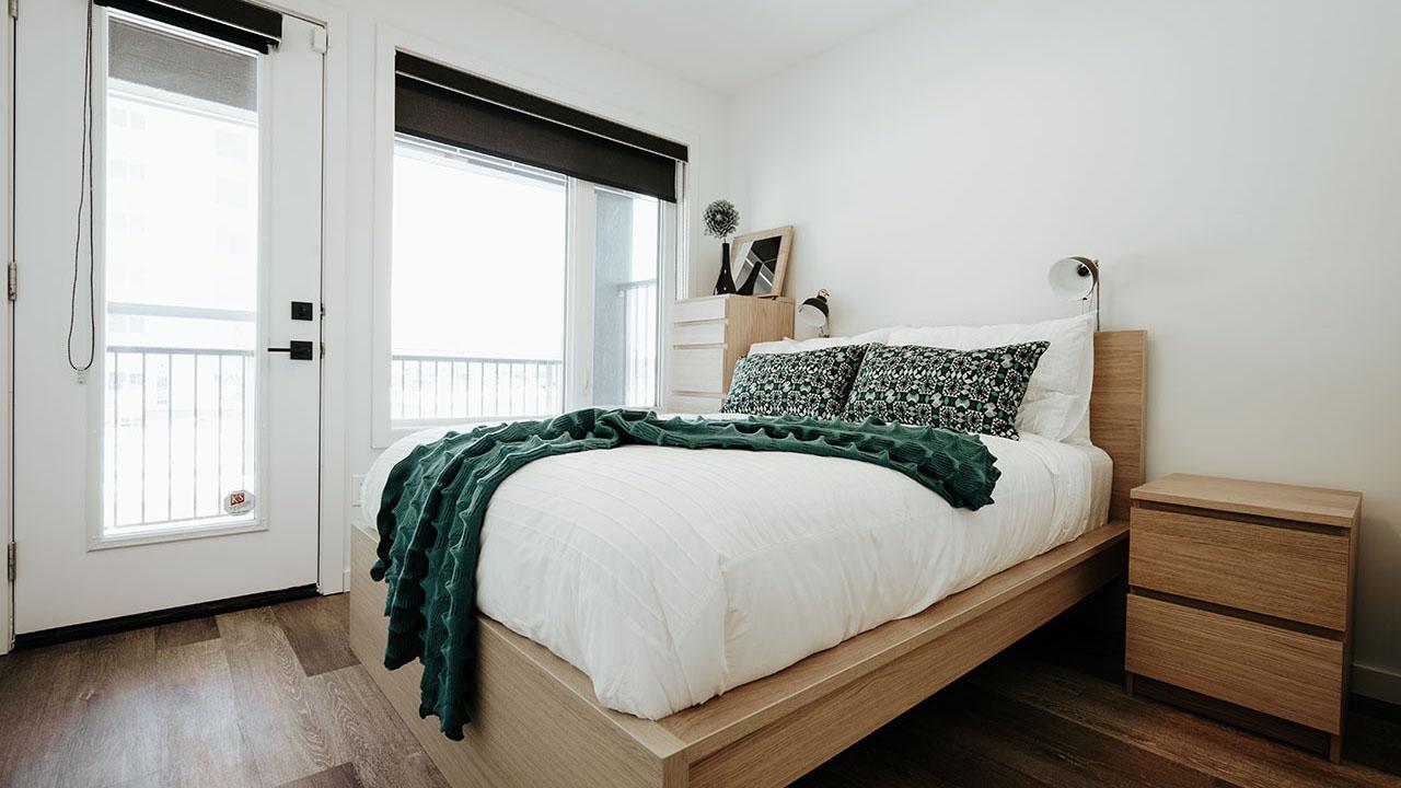 StreetSide Developments Winnipeg - 325 Park East - Condos Bedroom