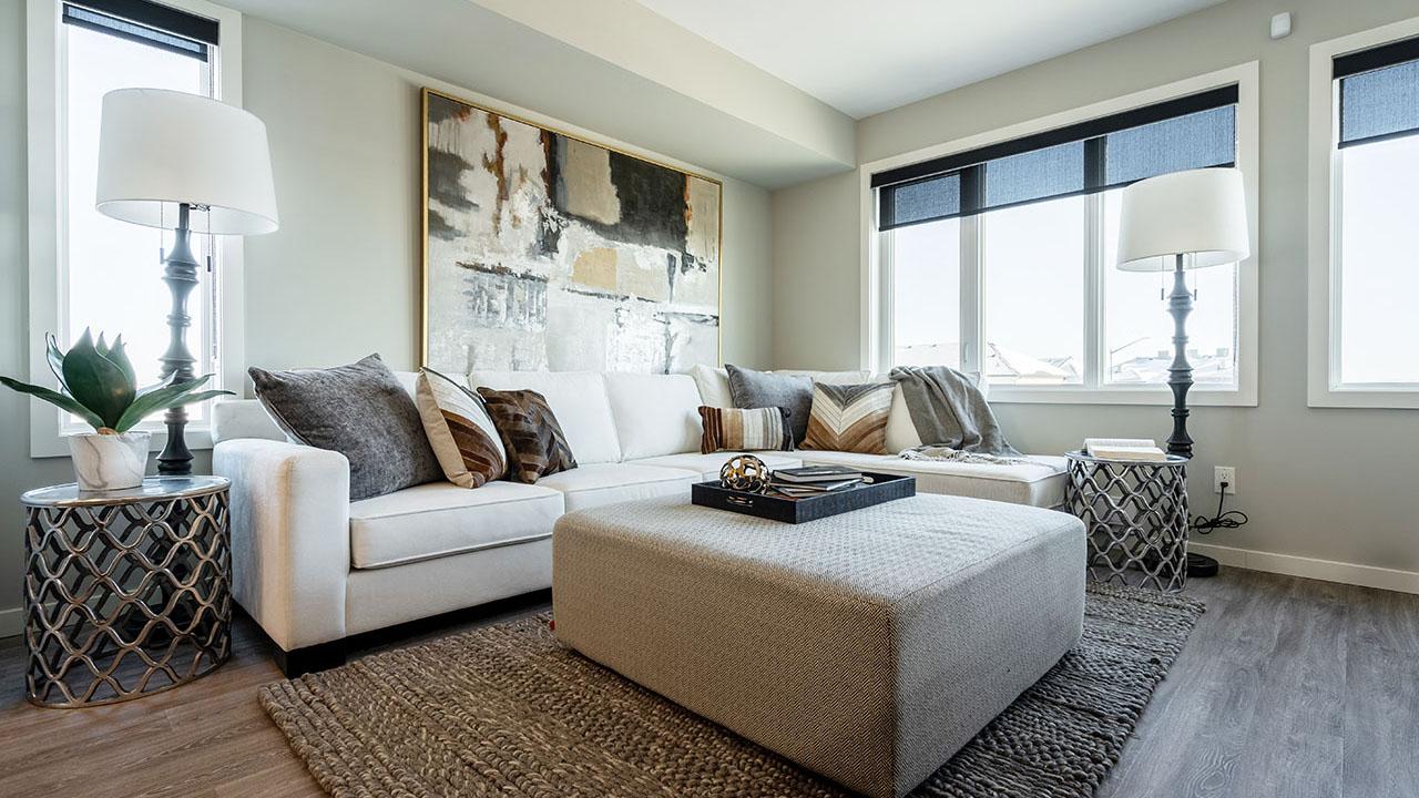 StreetSide Developments Winnipeg - 325 Park East - Living Room 2