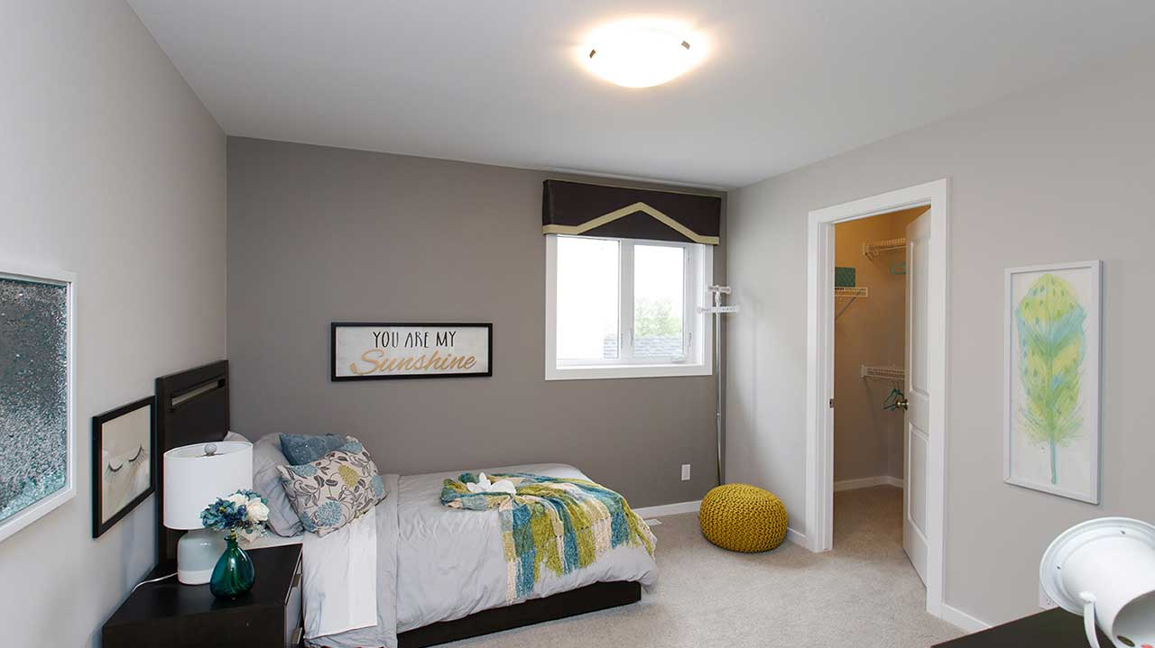 Kensington Homes Winnipeg - Clearbrook - Bedroom1