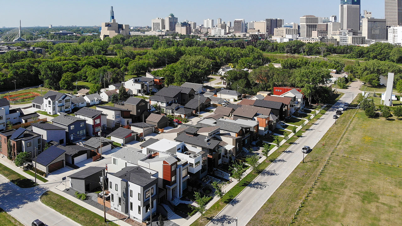 Qualico Communities Winnipeg - Point Hebert - New Aerial
