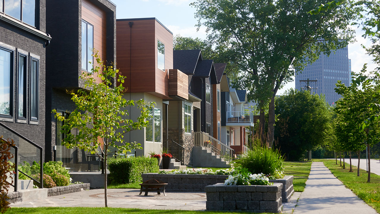 Qualico Communities Winnipeg - Point Hebert - Streetscape