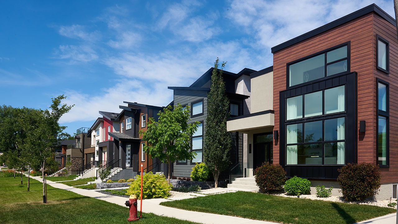 Qualico Communities Winnipeg - Point Hebert - Streetscape 1