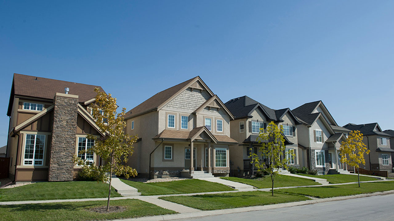Qualico Communities Winnipeg - River Park South - RowofHomes
