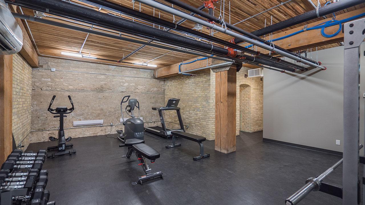StreetSide Winnipeg - District Condos - Fitness